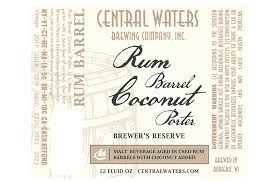 central waters adding rum barrel