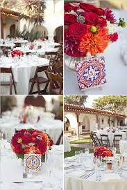 table numbers on spanish tiles inspiration for mobella events mobellaevents com
