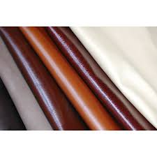 close up of deerskin leather fabric