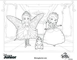 Sophia The First Coloring Pages Princess Sofia Mermaid Coloring