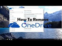 How To Delete Onedrive From Windows 10 Disable Onedrive Windows 10 How To Stop Onedrive Popup And Uninstall From Computer