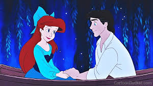 Small Picture Ariel And Eric In Boat The Little Mermaid 53pngw590h368 Coloring