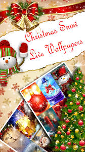 Christmas Live Wallpaper ❄ Snowfall ...