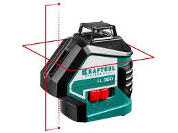 Нивелир Kraftool LL360 3 34645 3 проецирует горизонтальную ...