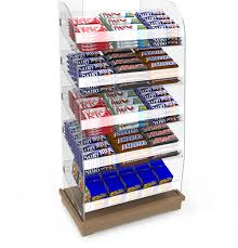 Confectionery Display Stands Bartuf Confectionery Displays Shelving 2