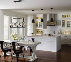 transitional kitchen lighting. Example Of A Transitional Kitchen Design Lighting U