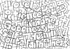 Small Picture Fruit Of The Spirit Coloring Pages Free Fruit Of The Spirit