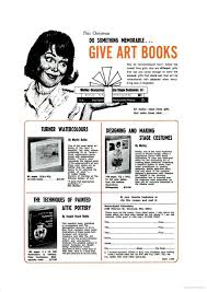 this do something memorable give art books why be monplace don