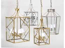 thelibracompany the libra company brass bamboo lantern large with white shade e14 40w