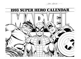Marvel Coloring Pages Free Printable Coloringstar
