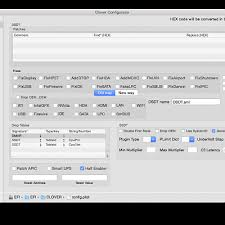Tonymacx86 com Clover Acpi Settings Configurator