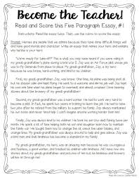 tips for teaching and grading five paragraph essays writing  for several years now grade teacher jenifer bazzit has been teaching five paragraph essay structure and everything that goes it
