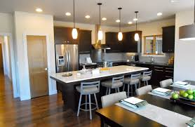 Pendant Lighting For Kitchen Island Kitchen Island Lighting With Simple And Stylish Pendant Lamps