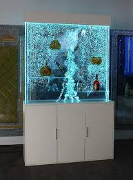 h2 w1 2 m digital dancing led wall bubble panel water feature displayer cabinet