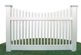 vinyl fence panels. White Vinyl Fence Panels