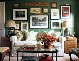 dark green living room living though there is a dark green wall with the dark  green