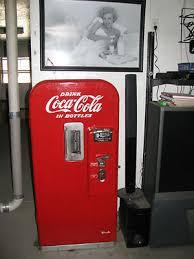 Original Coke Vending Machine Interesting Original 48c Vendo Model 48 Coca Cola Vending Machine Coke Cooler