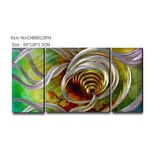 abstract 3d metal oil painting modern