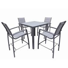 best of bunnings bar table with mimosa 5pc cable beach bar setting outdoor furniture