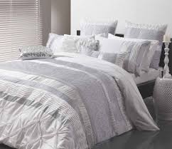 sara silver quilt cover set by logan mason ultima