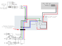david clark headset tape recorder electronics forum circuits diagram jpg
