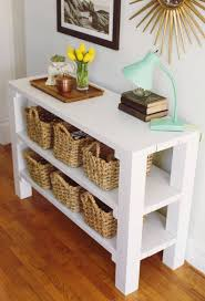 8 Gorgeous Entryway Tables You Can Make On A Budget Regarding Cheap  Entryway Table (View