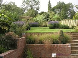 Small Picture Garden Design For Slopes Garden Design Ideas