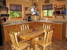 Cabin Kitchen Cabin 7 Kitchen On Lac Courte Oreilles