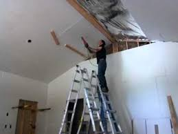 hanging drywall alone you