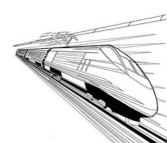 Small Picture Bullet Train Coloring Pages Printable Coloring Pages