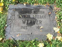 Weaver, Myrna (Fairview Cemetery) | Niagara Falls Canada