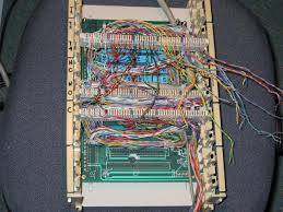 rob krten's web page 110 Punch Down Block wires from relays connected to bix punchdown blocks