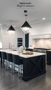 Timeless White Kitchen Design This Black And White Kitchen Is Always Dressed For The