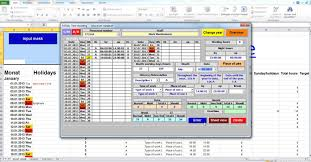 Track Time Calculate Time Time Tracking Application Excel Vba