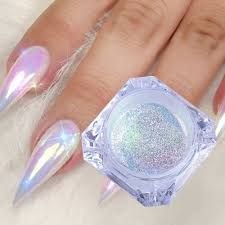 1 Box 02g Neon Aurora Nail Art Glitter Powders Mermaid Unicorn Chrome Pigment Dust Diy Beauty Nail Decoration Tools At Vova