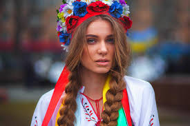 Streets ukraine women and russian