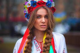 What ukrainian women wear or
