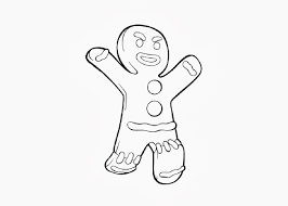 Small Picture coloring pages gingerbread man run run gingerbread man gingerbread