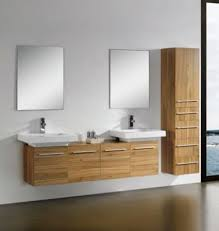 modern bathroom double sinks. Modern Double Sink Bathroom Vanities In CHERRY M1204 Sinks L
