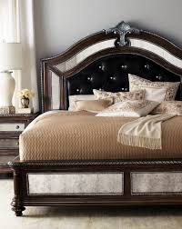 queen bedroom set with mirror headboard   Academy of Art & Design ...