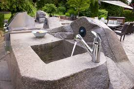 Outdoor Kitchen Sinks Kitchen Inspire Modern Outdoor Kitchen Sink Design Outdoor