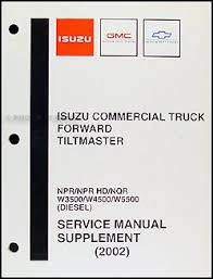 2002 npr nqr w3500 w4500 w5500 diesel repair shop manual 2002 npr nqr w3500 w4500 w5500 diesel repair shop manual original supp