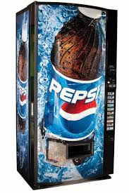 Vending Machines Soda Simple Vendo Vmax Multi Soda Vending Machine W Pepsi Graphics Cans