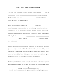 best photos of early lease termination agreement lease agreement lease agreement termination letter