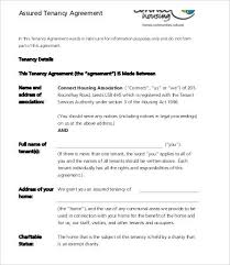 Lease Agreement Word Template Magnificent Tenancy Agreement Template 48 Free Word PDF Documents Download
