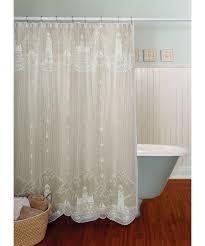 lighthouse white shower curtain x hayneedle lace fabric vinyl eyelet imageby full size