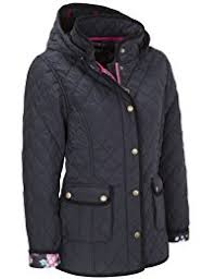 Amazon.co.uk: Padded - Coats / Coats & Jackets: Clothing & VEDONEIRE Womens Quilted Jacket with detachable hood (5038) Navy blue padded  coat Adamdwight.com