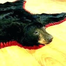 bear skin rugs fake bear skin rug with head bear hide rug fake bear skin rug