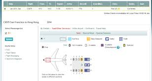 21 Meticulous Cathay Pacific Seating Chart 744