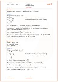 chapter 6 linear inequalities part 1